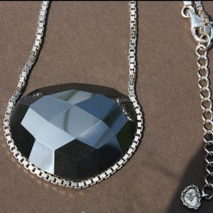 SILPADA Ignite Sterling Silver Hematite Necklace